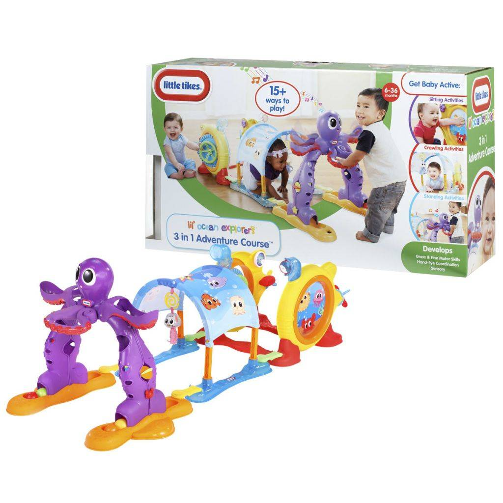 Little Tikes 3-in-1 Seikkailurata