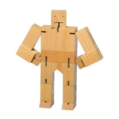 Areaware Cubebot puuhahmo, S