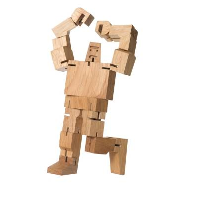 Areaware Cubebot Guthrie puuhahmo