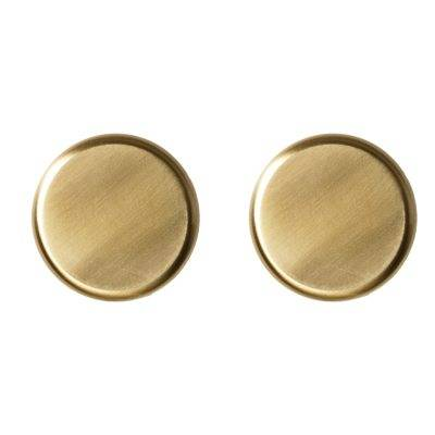 Menu Knobs seinäkoukku 2-pack, messinki