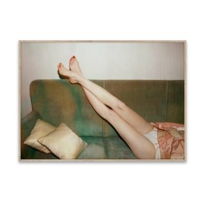 Paper Collective Juliste Resting Feet 40 x 30
