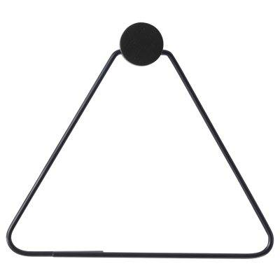Ferm Living Black vaateripustin, triangle