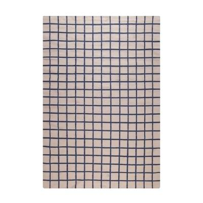 Decotique Tapis Damier matto, beige/sininen