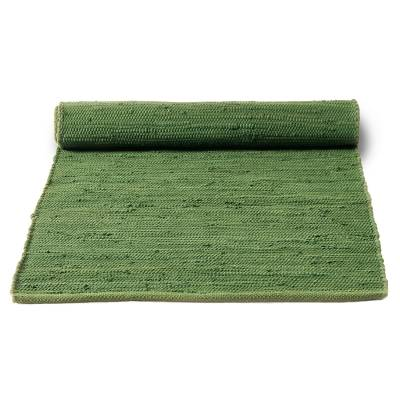 Rug Solid Cotton matto, olive green
