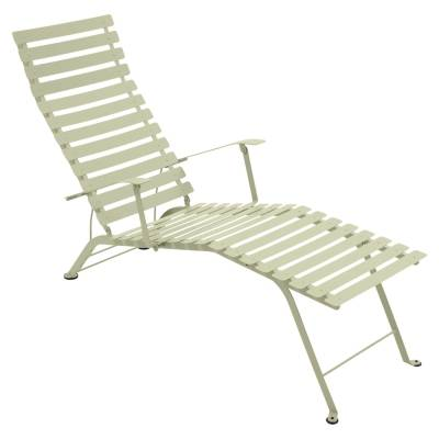 Fermob Bistro Chaise Longue, willow green