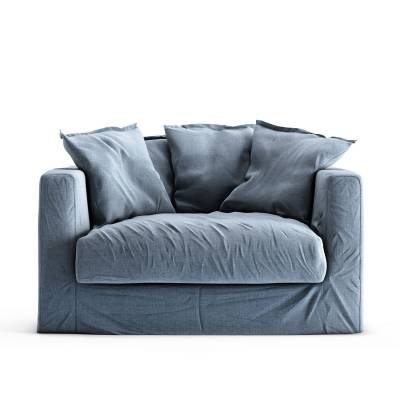 Decotique Le Grand Air Loveseat, Dusky Gloom