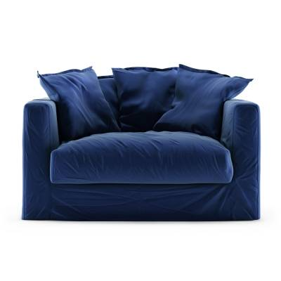 Decotique Le Grand Air Loveseat sametti, Indigo