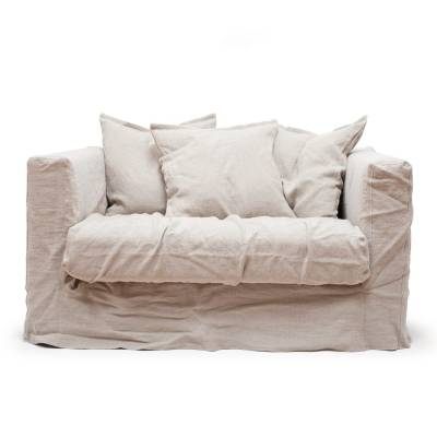 Decotique Le Grand Air Loveseat, Savage Linen