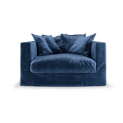 Decotique Le Grand Air Loveseat, Midnight Blue