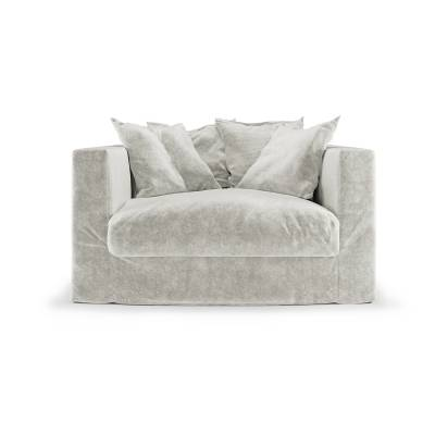 Decotique Le Grand Air Loveseat, Off White
