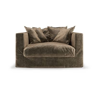 Decotique Le Grand Air Loveseat, Light Brown