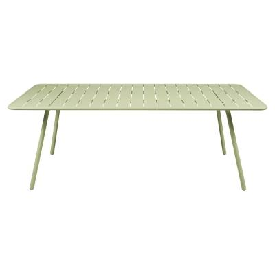 Fermob Luxembourg pöytä 207x100, willow green