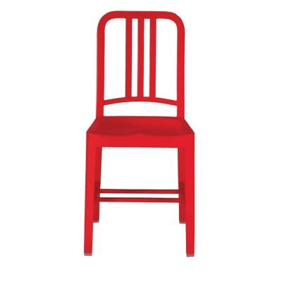 Emeco 111 Navy Chair, red