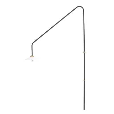 Valerie Objects Hanging lamp vegglampe n°4, musta