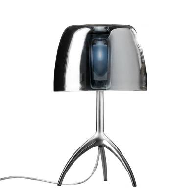 Diesel with Foscarini Lumiere 25th pöytävalaisin S, himmennin/alumiini