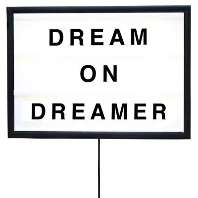 Bxxlght Dream On Dreamer lightbox, small