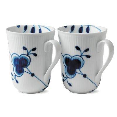 Royal Copenhagen Blue Fluted Mega muki, 2-kpl
