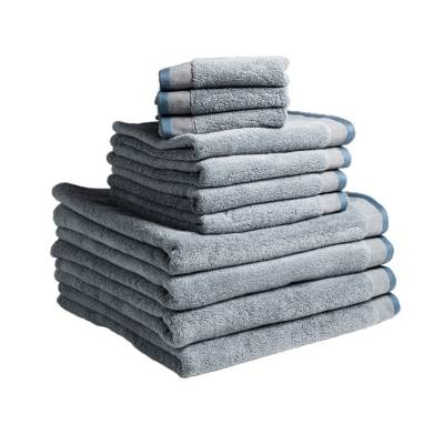 Dirty Linen Dirty eco pyyhe 50x70, faded blue