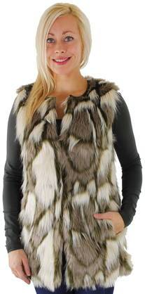 ONLY Karvaliivi Only Lucy fur waistcoat