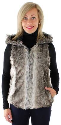 Only Karvaliivi Bilbao hooded fur