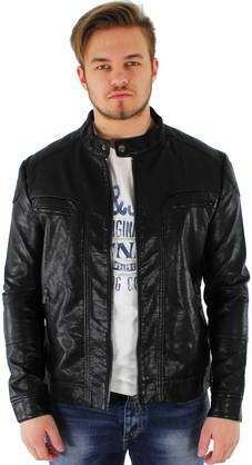 Only&Sons Niels pu jacket musta