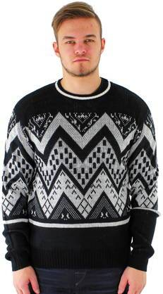 Only&Sons neule Seamus crew neck musta