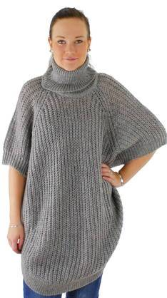 ONLY Poncho Only Ango rollneck