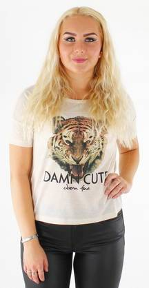 Only Lucy print T-paita