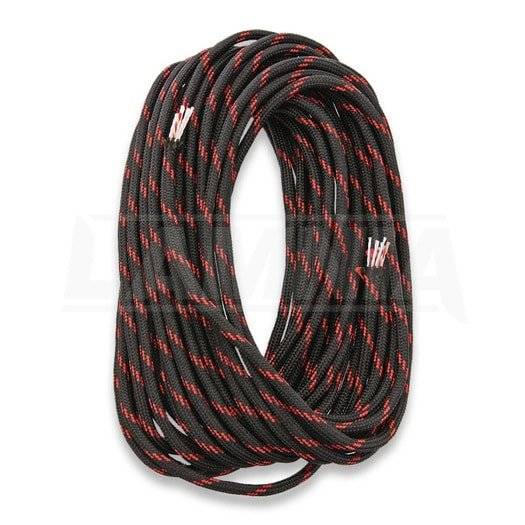Live Fire Gear 550 FireCord 7,5m Black/Red Line