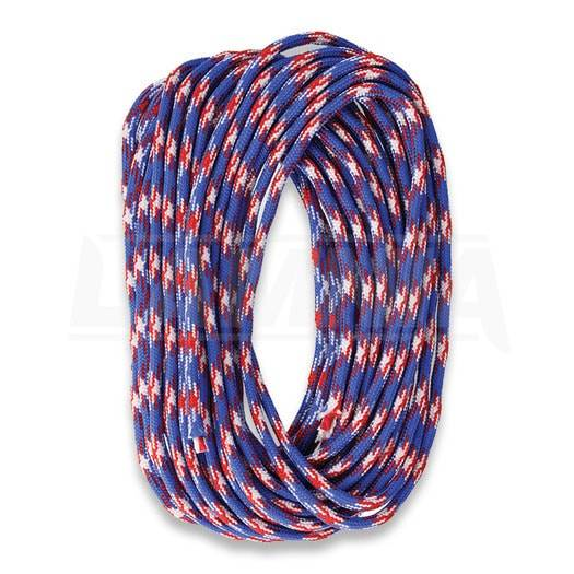 Live Fire Gear 550 FireCord 7,5m Red White & Blue