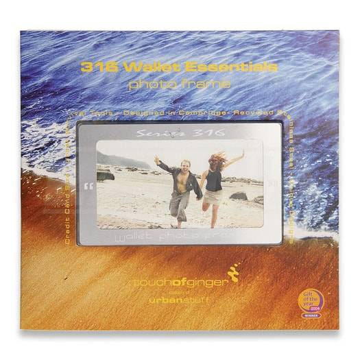 Touch of Ginger Wallet Photo Frame