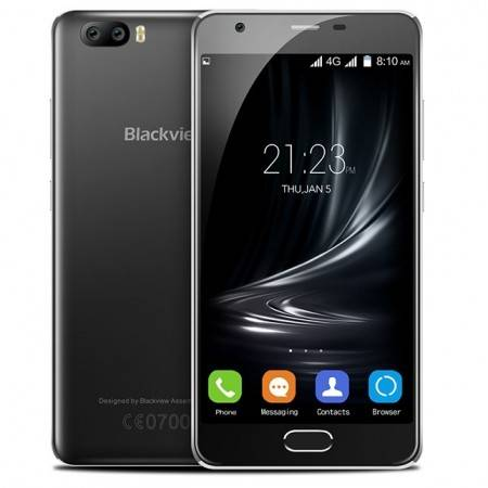"""Blackview A9 Pro 5.0"""" Android 7.0 -puhelin - Musta"""