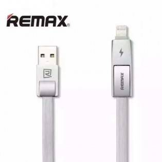 Remax iPhone/Android kaapeli 1m 2.1A - Musta