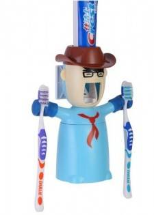 e-ville.com Cowboy brush holder  - Hammasharjateline
