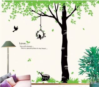e-ville.com Wall stickers - Tree -seinätarra
