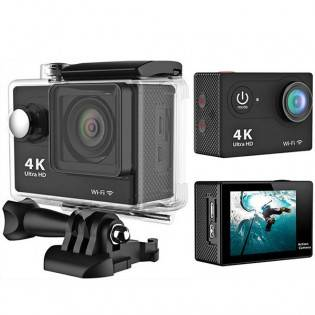 Diel H9 WiFi Action-kamera 12MP - Pinkki