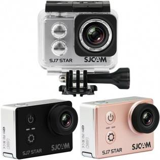 SJCAM SJ7 STAR 4K WiFi action-kamera - Musta