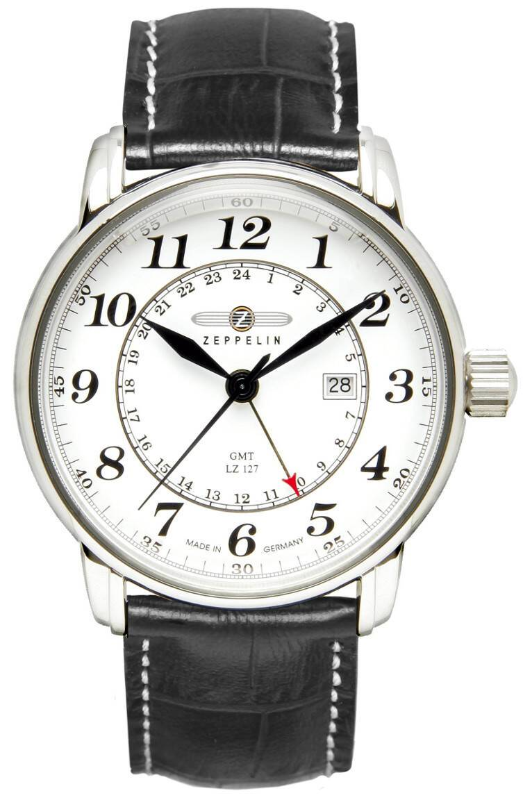Zeppelin LZ-127 Graf Zeppelin GMT-Time Ronda505 7642-1