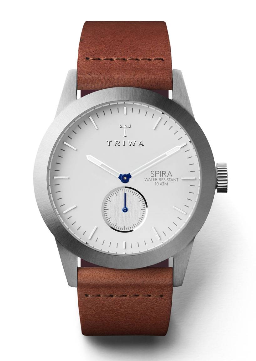 Triwa SPST102 Ivory Spira Brown Classic-Silver