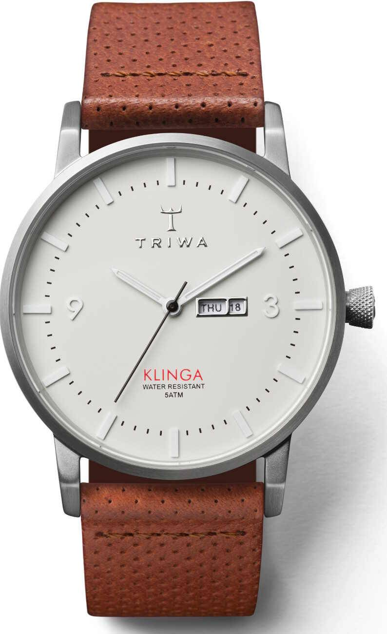 Triwa Dawn Klinga Brown Dots Classic KLST101