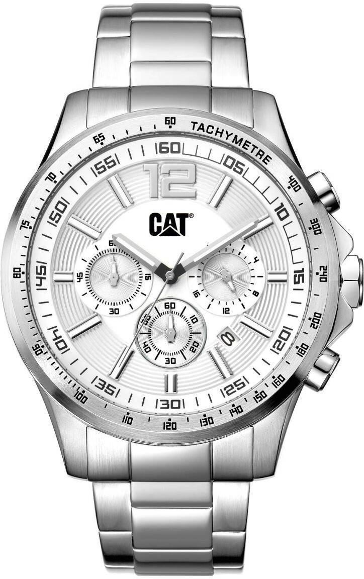 Caterpillar CAT Boston Silver Dial AD.143.11.232