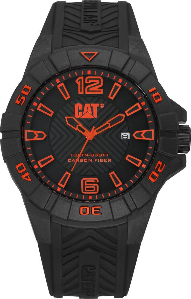 Caterpillar CAT Karbon Orange Dial K1.121.21.138