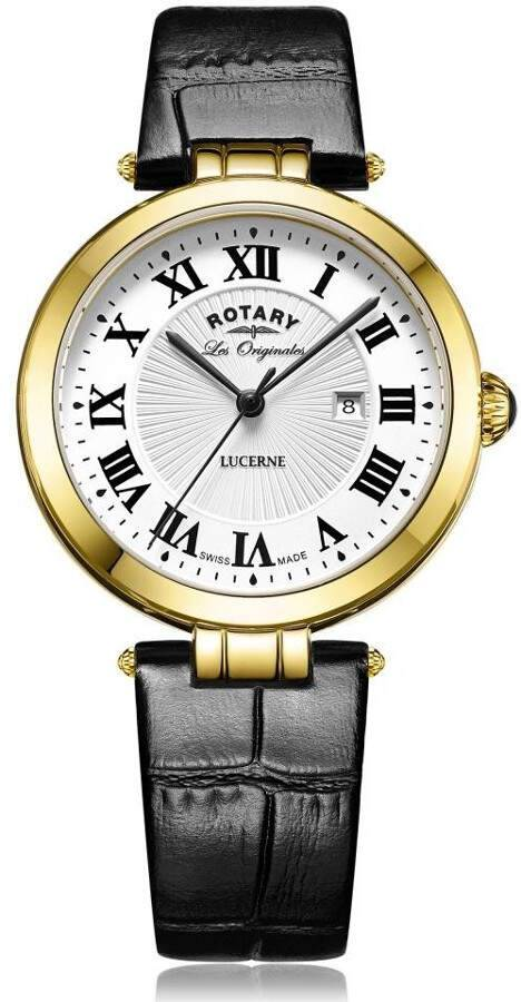 Rotary Lucerne Ladies Swiss Made Watch LS90198/01L