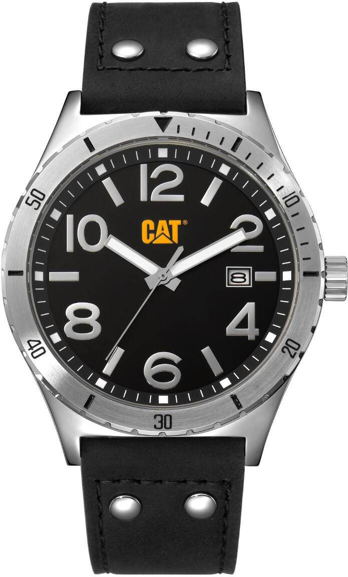 Caterpillar Camden Black Dial Leather NI.241.34.131