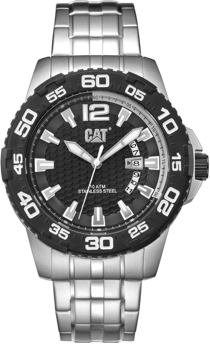 Caterpillar Drive Date Black Dial PW.141.11.121