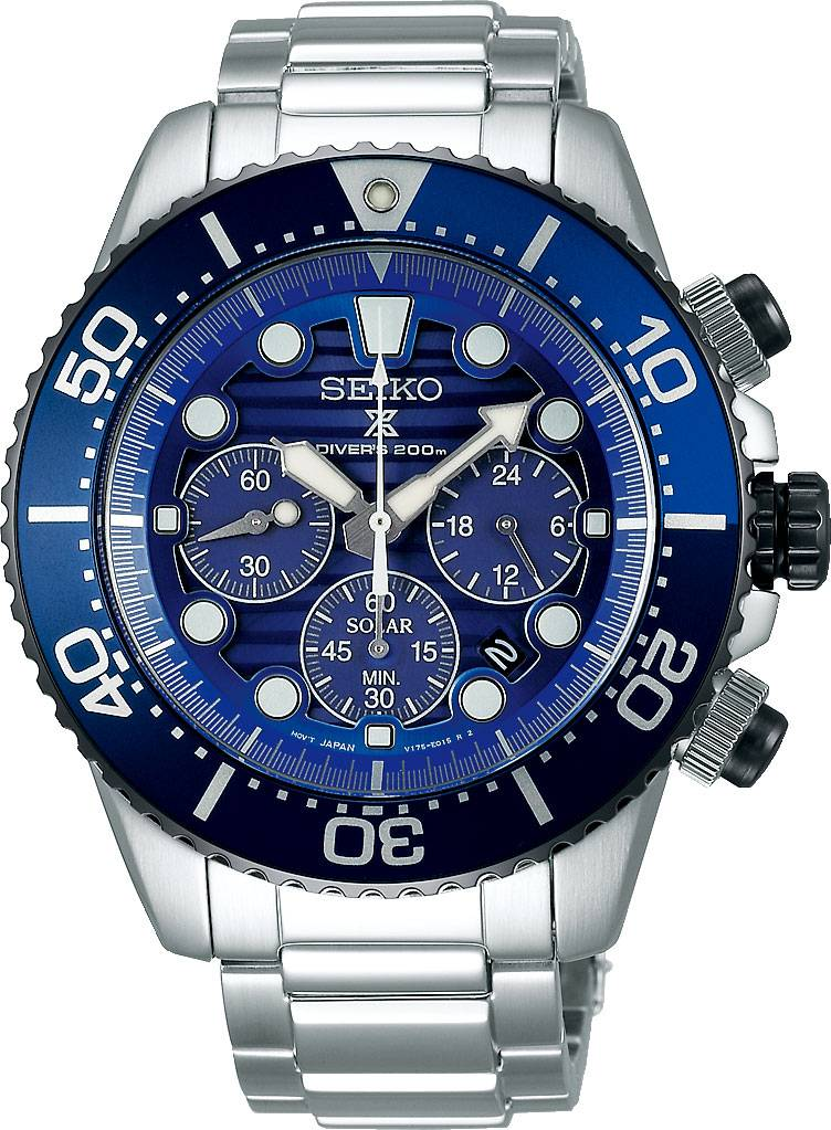 Seiko SSC675P1 Save the Ocean Edition Chronograph