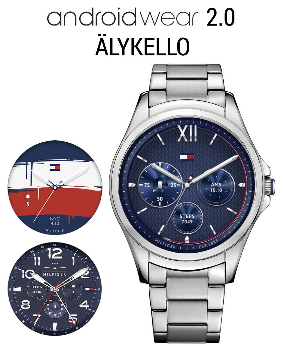 Tommy Hilfiger TH24/7 YOU AndroidWear 2.0 älykello 1791405