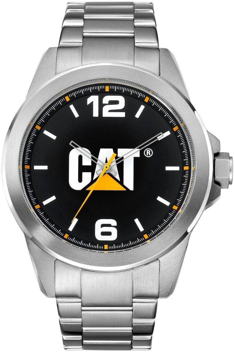 Caterpillar CAT Icon Steel Black/white YS.140.11.131