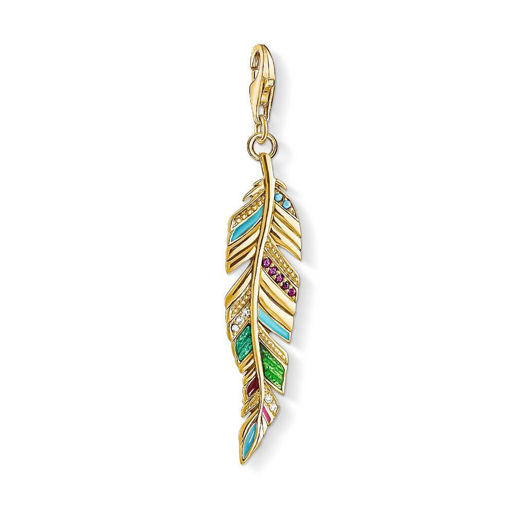 Thomas Sabo Charm Club Y0033-471-7 Ethnic Feather