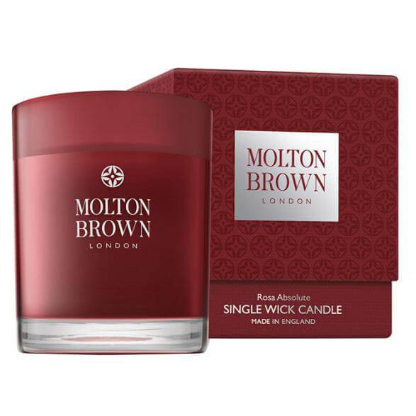 Molton Brown Rosa Absolute Single Wick Candle